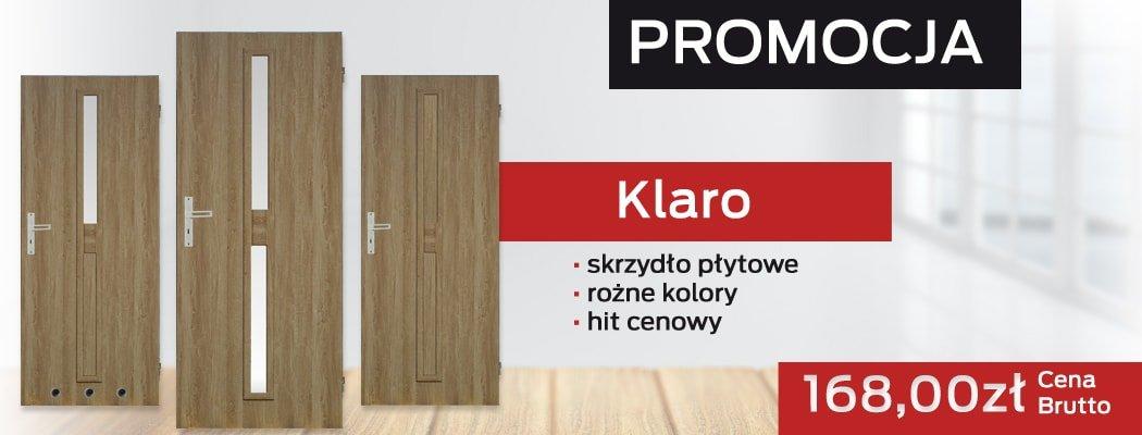 Drzwi Klaro w promocji