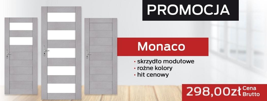 Skrzydło modułowe drzwi Monaco