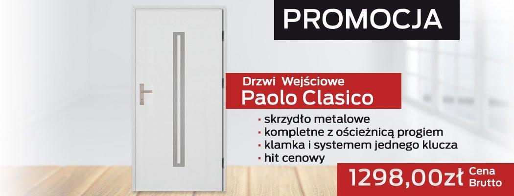 Drzwi wejściowe zewnętrzne Paolo Clasico na promocji!