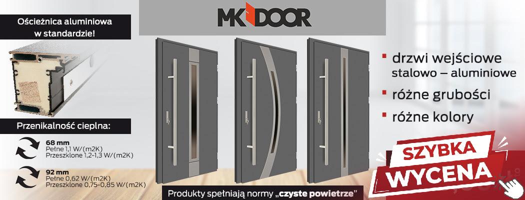 Drzwi wejściowe Mateo INOX